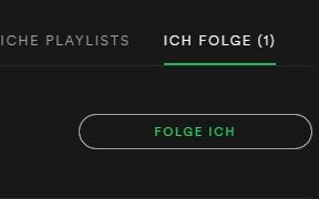 Spotify herausfinden wem man folgt