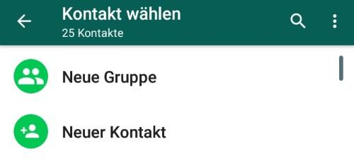 WhatsApp Nachricht ohne Kontakt schicken